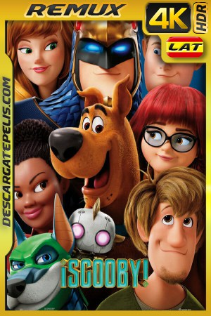 Scooby-Doo! (2020) 4K REMUX HDR Latino – Ingles