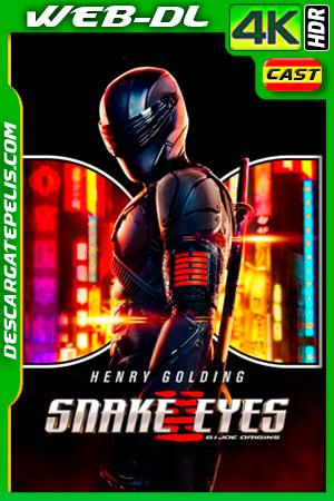 Snake Eyes: El origen (2021) 4K WEB-DL HDR