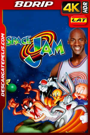 Space Jam (1996) 4K BDRip HDR Latino