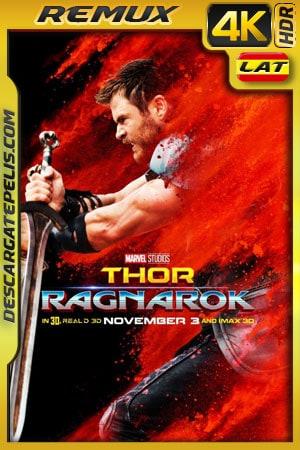 Thor: Ragnarok (2017) 4k Remux HDR Latino