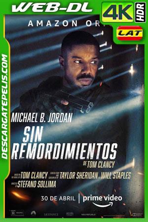 Tom Clancy: Sin remordimientos (2021) 4k WEB-DL HDR Latino