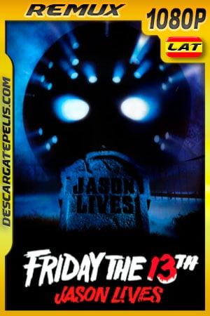 Viernes 13: parte 6 Jason Vive (1986) 1080p Remux Latino