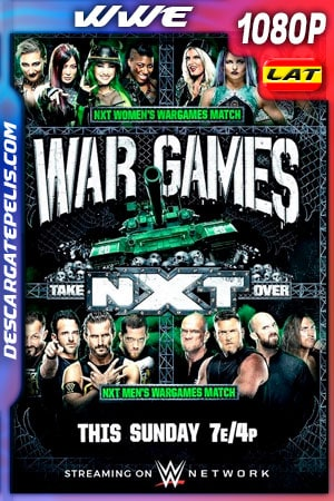 WWE NXT TakeOver: WarGames (2020) HD 1080p WEB-DL Latino